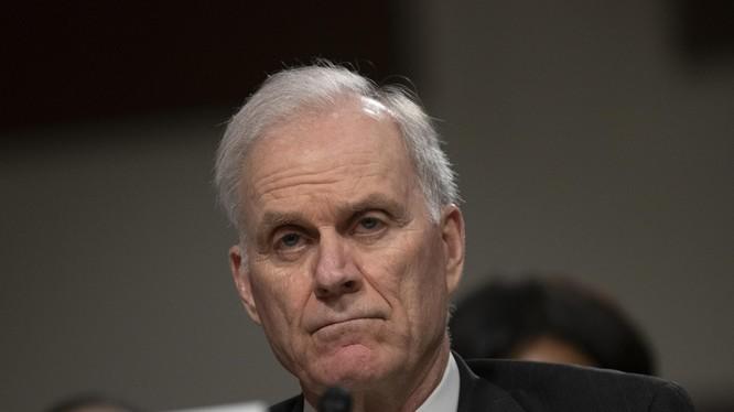 Bộ trưởng Hải quân Mỹ Richard Spencer bất ngờ từ chức (Ảnh: AP)