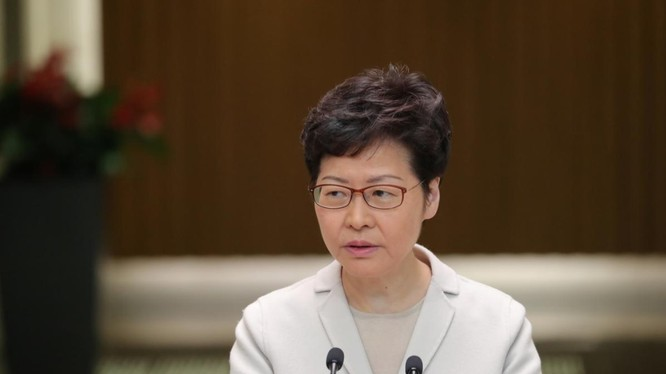 Trưởng đặc khu Hong Kong Carrie Lam (Ảnh: Reuters)