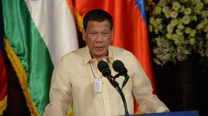 Tổng thống Philippines Rodrigo Duterte phẫn nộ trước công tác chuẩn bị SEA Games yếu kém (Ảnh: StraitTimes)