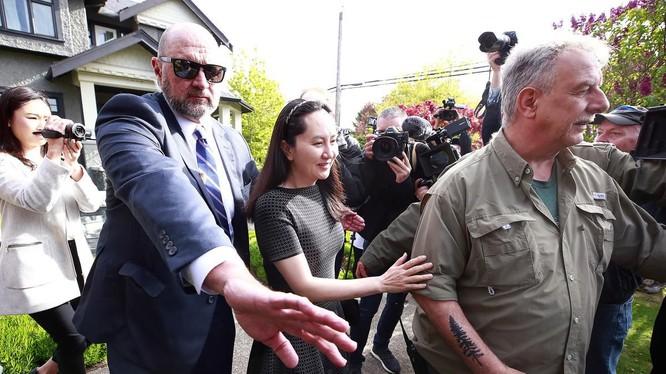 Các luật sư của bà Mạnh Vãn Châu đang ngăn chặn khả năng bà bị dẫn độ về Mỹ (Ảnh: The Star)