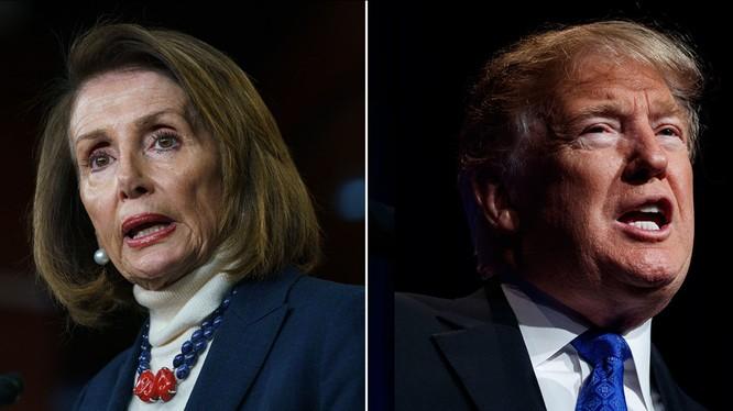Tổng thống Trump đưa ra lời thách thức phe Dân chủ trong quá trình điều tra luận tội (Ảnh: ABC)