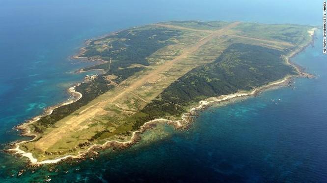 Đảo Mageshima chụp từ trên cao (Ảnh: CNN)