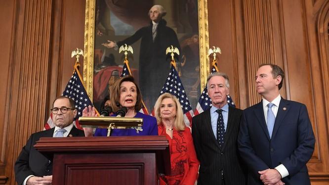 Hạ viện Mỹ công bố 2 điều khoản luận tội Tổng thống, dự kiến tổ chức bỏ phiếu trong tuần tới (Ảnh: VOX)