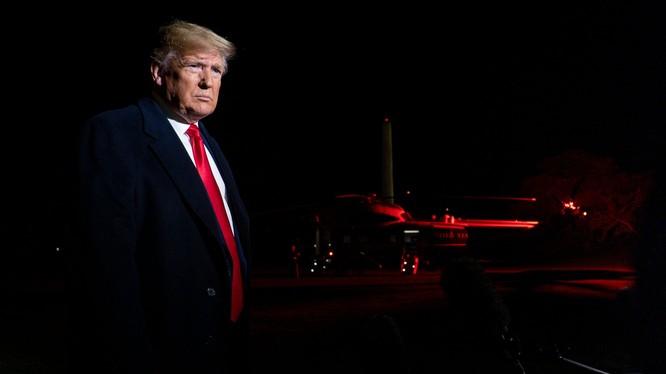 Tổng thống Mỹ Donald Trump (Ảnh: NYT)