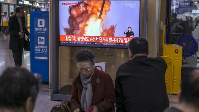 """Liên tục thử nghiệm vũ khí, Triều Tiên đang tỏ ra hết sức nghiêm túc với """"thời hạn chót"""" mà họ đặt ra với Mỹ (Ảnh: Yonhap)"""