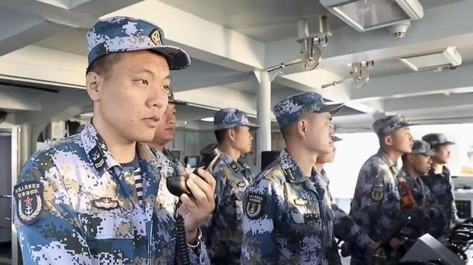 Hình ảnh cuộc tập trận của binh sĩ Trung Quốc đồn trú tại Hong Kong trong đoạn video được CCTV công bố (Ảnh: SCMP)