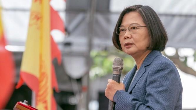 Lãnh đạo Đài Loan Thái Anh Văn (Ảnh: SCMP)