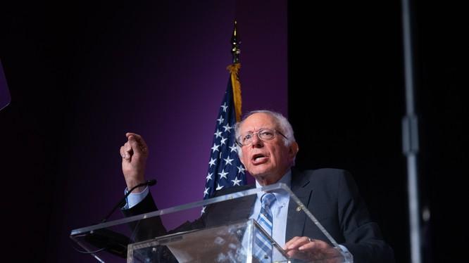 Ứng viên đảng Dân chủ Bernie Sanders (Ảnh: Bloomberg)