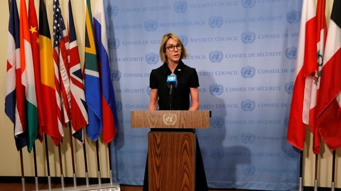 Đại sứ Mỹ tại LHQ Kelly Craft (Ảnh: Reuters)