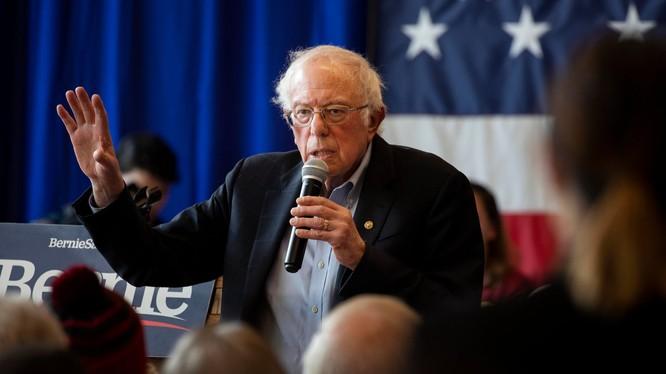 Ứng viên của đảng Dân chủ Bernie Sanders (Ảnh: NYTimes)
