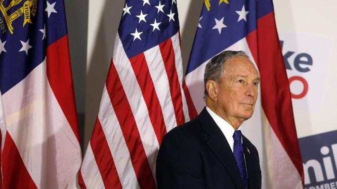 Cựu Thị trưởng New York, tỷ phú Michael Bloomberg (Ảnh: Reuters)