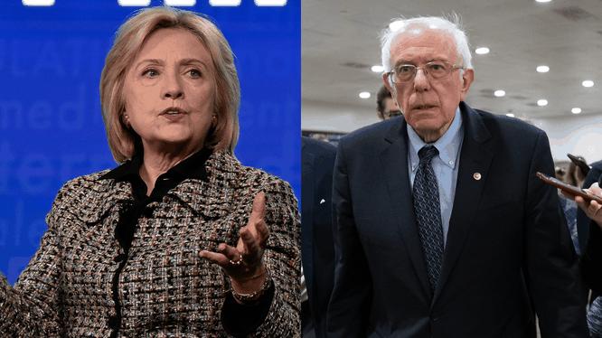 Bà Clinton chỉ trích chiến dịch của ông Bernie Sanders vì thường xuyên tung đòn công kích và mạt sát nữ đối thủ (Ảnh: Politico)