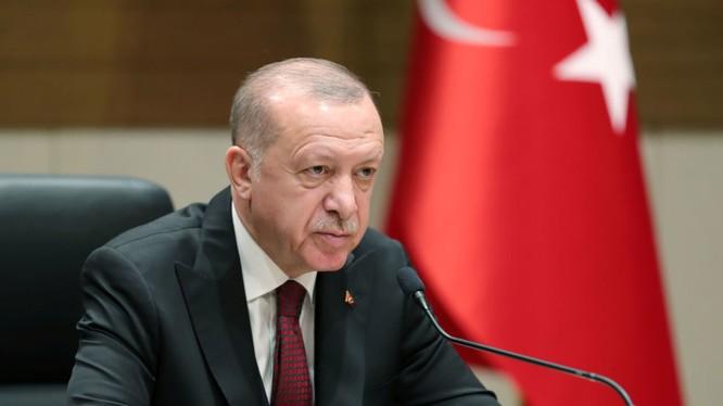 Tổng thống Thổ Nhĩ Kỳ Recep Tayyip Erdogan đang đưa ra nhiều động thái nguy hiểm ở Idlib, Syria (Ảnh: Sputnik)
