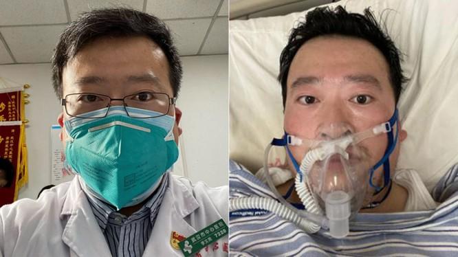 Bác sĩ Lý Văn Lượng (Li Wenliang) trong các bức ảnh được đăng tải lên tài khoản Weibo của ông (Ảnh: Getty)