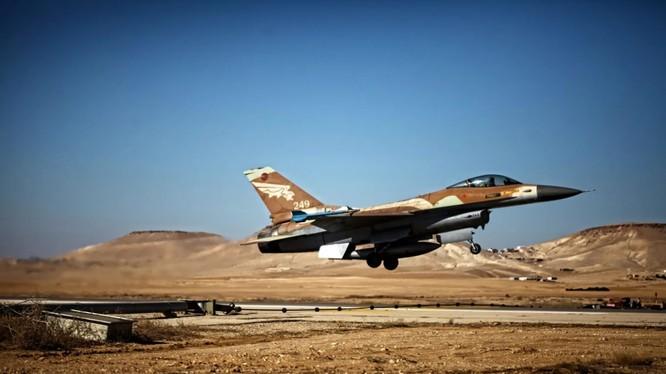 Một chiếc chiến đấu cơ F-16 của quân đội Israel (Ảnh: Haaretz)