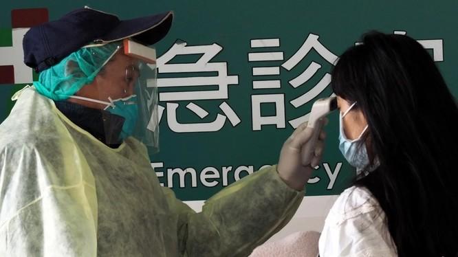 Phối hợp chống dịch OVID-19 giữa Trung Quốc và Đài Loan căng thẳng không kém gì mối quan hệ giữa họ (Ảnh: EPA)