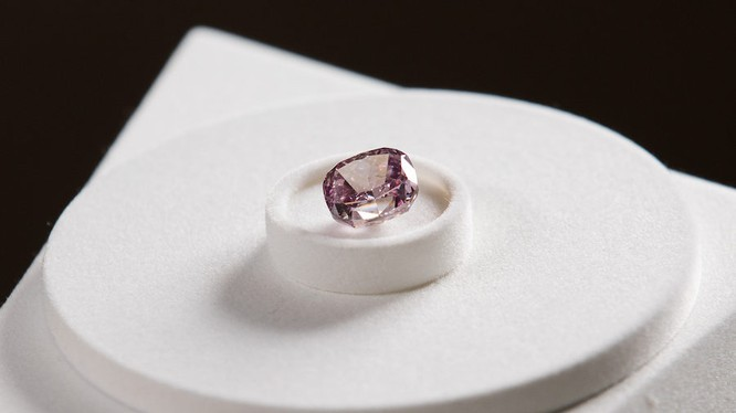 """Viên kim cương """"Spirit of the Rose"""" của công ty Alrosa (Ảnh: Getty)"""