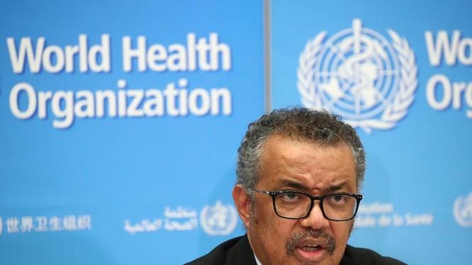 Tổng Giám đốc WHO Tedros Adhanom Ghebreyesus (Ảnh: Reuters)