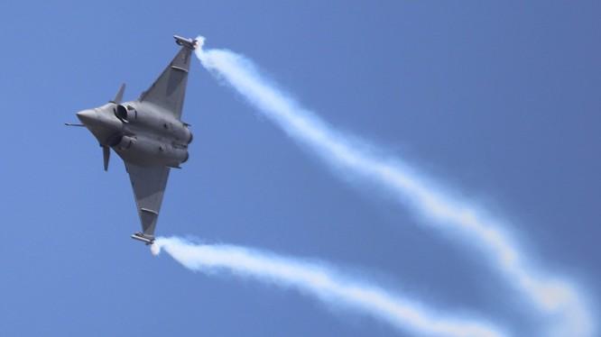 Một chiến đấu cơ Rafael của lực lượng không quân Ấn Độ (Ảnh: RT)