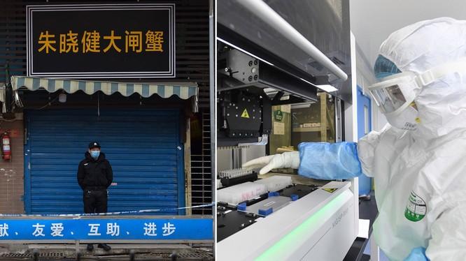 Nhiều hãng tin nước ngoài từng đưa ra giả thuyết virus corona chủng mới rò rỉ từ phòng thí nghiệm ở Vũ Hán (Ảnh: Metro)
