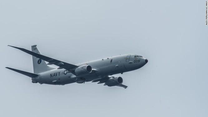 Máy bay do thám P-8A Poseidon của Mỹ (Ảnh: CNN)