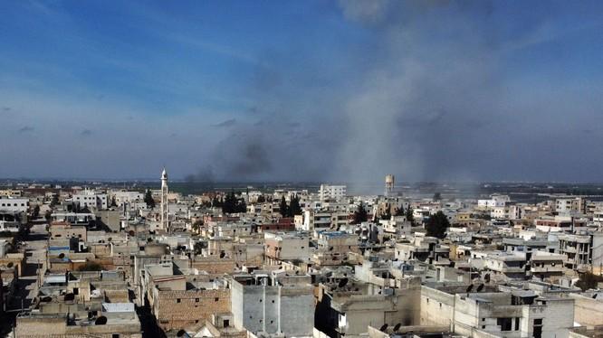 Căng thẳng tại tỉnh Idlib của Syria đã tăng đột biến trong mấy ngày gần đây (Ảnh: Standard.uk)
