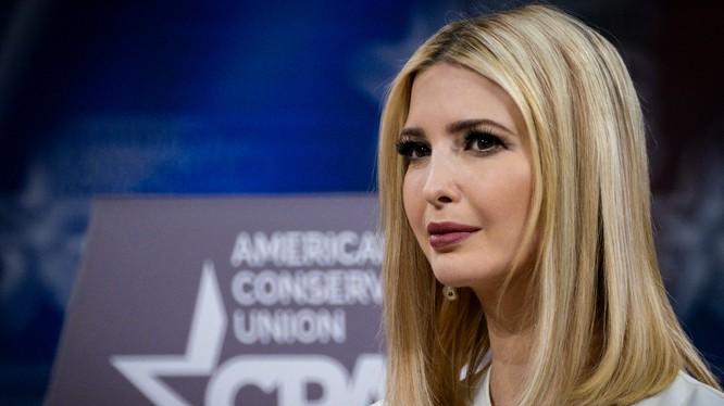 Ivanka Trump, người con được cho là xuất sắc nhất trong gia đình Tổng thống Mỹ Donald Trump (Ảnh: NYTimes)