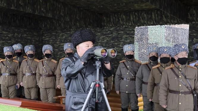 Chủ tịch Triều Tiên Kim Jong-un (Ảnh: KCNA)