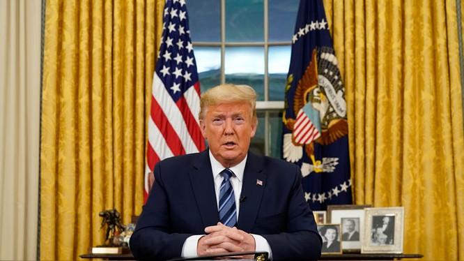 Tổng thống Mỹ Donald Trump (Ảnh: CNN)