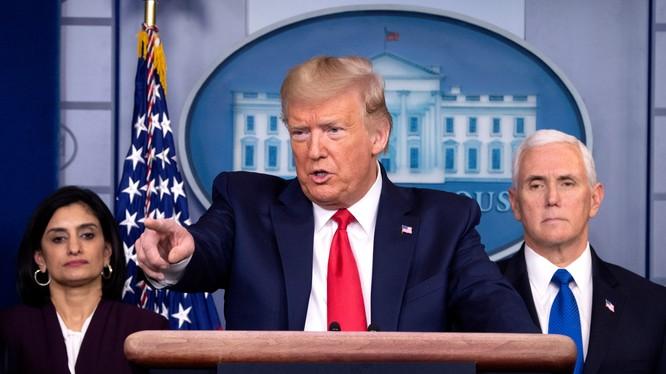 Tổng thống Mỹ Donald Trump (Ảnh: The Sun)