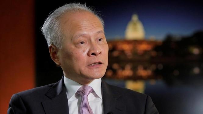 Đại sứ Trung Quốc tại Mỹ Thôi Thiên Khải (Ảnh: The National)