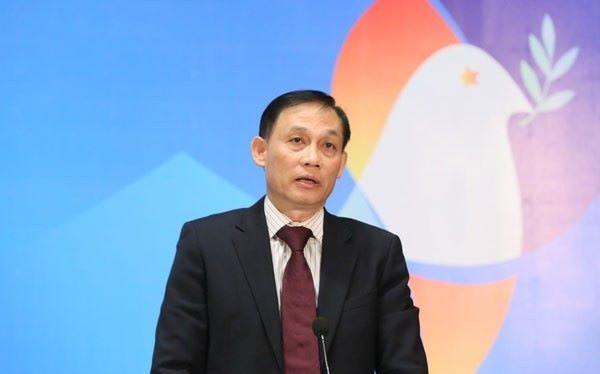 Thứ trưởng Bộ Ngoại giao Lê Hoài Trung (Ảnh: BNG)