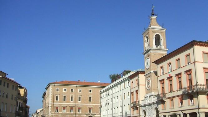 Thành phố Rimini, nơi cụ ông 101 tuổi khỏi bệnh COVID-19 một cách kỳ diệu (Ảnh: Telegraph)