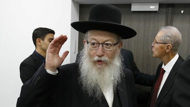 Bộ trưởng Y tế Israel Ya'akov Litzman dương tính với víu corona chủng mới (Ảnh: Sputnik)