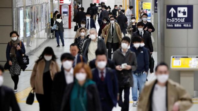 Nền kinh tế Nhật Bản, lớn thứ ba thế giới, chịu ảnh hưởng nặng nề từ dịch COVID-19 (Ảnh: Reuters)
