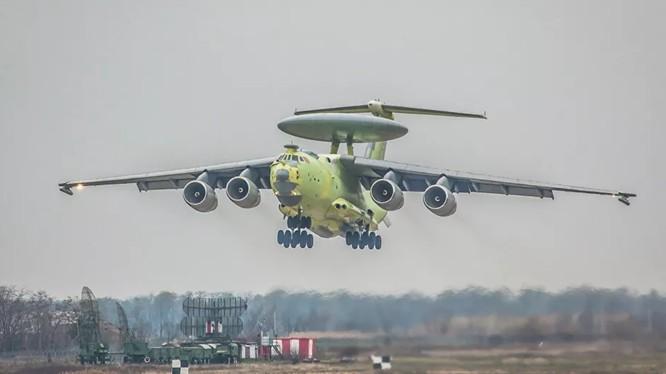 """Radar bay"" Beriev A-100 của Nga (Ảnh: Sputnik)"