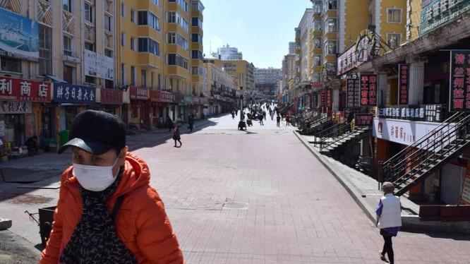 Thành phố Tuy Phần Hà, tỉnh Hắc Long Giang, trở thành điểm nóng COVID-19 mới ở Trung Quốc (Ảnh: Reuters)