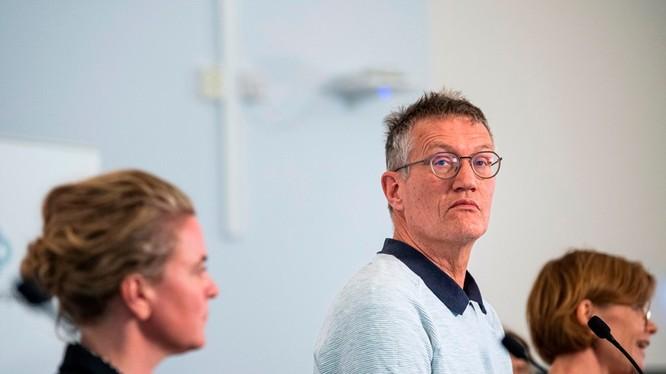 Ông Anders Tegnell, người vạch ra chiến lược chống COVID-19 gây tranh cãi của Thụy Điển (Ảnh: AFP)
