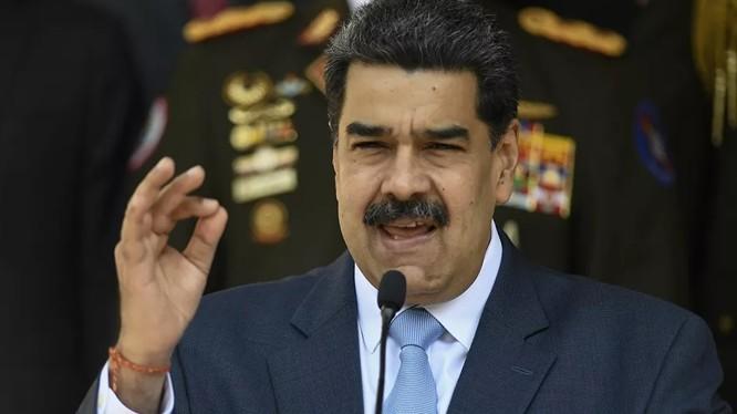 Tổng thống Venezuela Nicolas Maduro cho rằng đây là một âm mưu hòng ám sát ông (Ảnh: Sputnik)