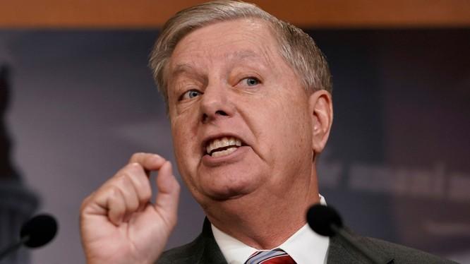 Dự luật được thượng nghị sĩ Mỹ Lindsey Graham cùng 8 nghị sĩ khác soạn thảo (Ảnh: Pinterest)