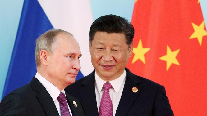 Tổng thống Nga Vladmir Putin và Chủ tịch Trung Quốc Tập Cận Bình cam kết duy trì mặt trận thống nhất chống COVID-19 (Ảnh: Reuters)