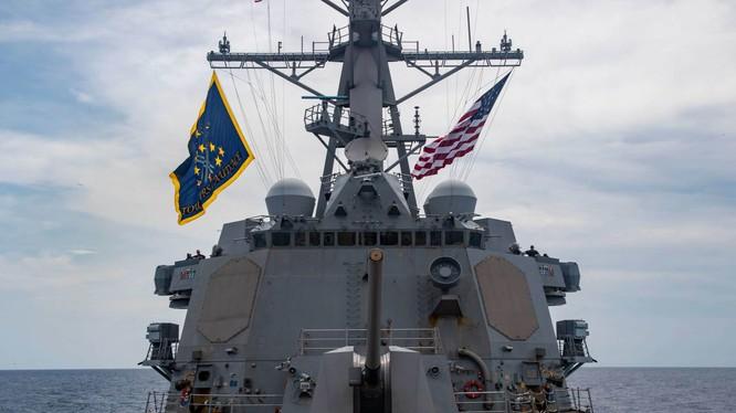 Tàu USS Mustin của Hải quân Mỹ (Ảnh: USNI)