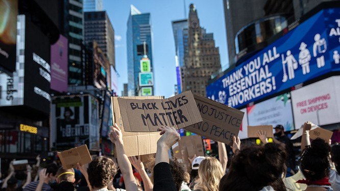 Làn sóng biểu tình dấy lên từ cái chết của George Floyd đang lan rộng ở Mỹ (Ảnh: Politico)