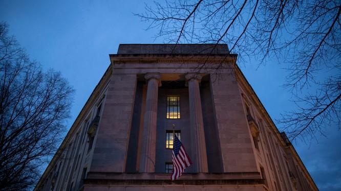 Bộ Tư pháp Mỹ (Ảnh: Getty)