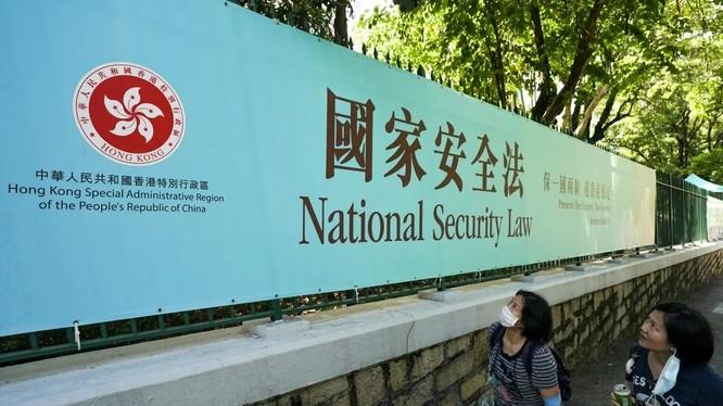 Động thái của Mỹ liên quan tới Hong Kong vấp phải phản ứng dữ dội từ Bắc Kinh (Ảnh: SCMP)