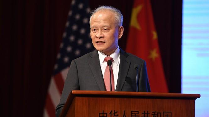 Đại sứ Trung Quốc tại Mỹ Thôi Thiên Khải (Ảnh: NYPost)