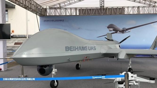 Mẫu drone BZK-005C của quân đội Trung Quốc (Ảnh: Handout)
