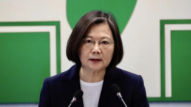 Lãnh đạo Đài Loan Thái Anh Văn đánh tín hiệu tăng cường quan hệ quốc phòng với Mỹ (Ảnh: SCMP)