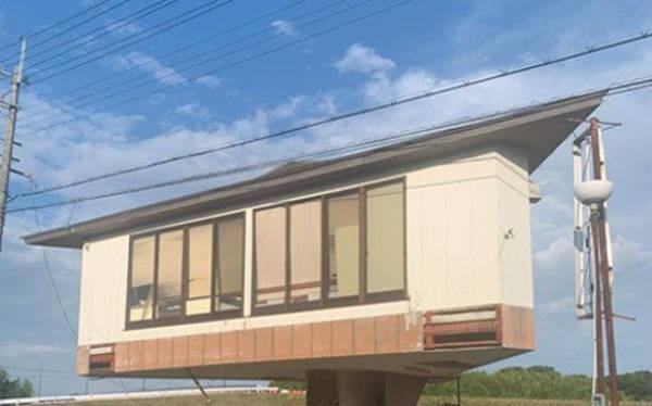 Ngôi nhà nấm kỳ lạ gây hiếu kỳ ở Nhật Bản (Ảnh: OC)