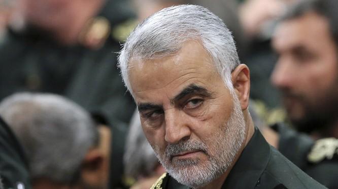 Tướng Soleimani tử vong trong vụ không kích mà Mỹ thực hiện hồi đầu năm nay (Ảnh: AP)